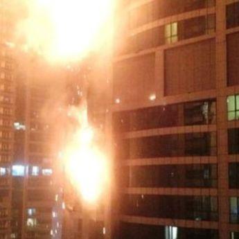 DRAMA U DUBAIJU: Požar u jednoj od najviših zgrada na svetu! (FOTO)