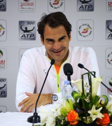 Federer kakvog ne poznajete: Ipak zna da se smeje! (FOTO)