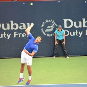 Srce na terenu: Zimonjić i Nole na ATP-u u Dubaiju (FOTO)