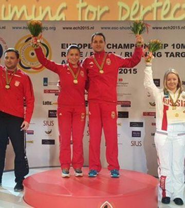 Još jedno zlato!  Andrea Arsović i Milutin Stefanović šampioni Evrope!