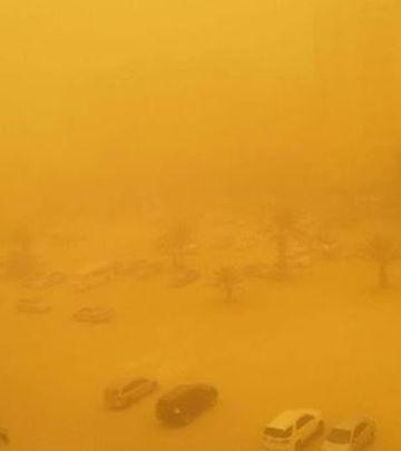 Peščana oluja u Dubaiju i Abu Dabiju