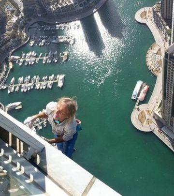 "Obaranje svetskog rekorda u Dubaiju: ""Spajdermen"" iz Francuske danas osvaja ""uvrnutu zgradu""! (VIDEO)"