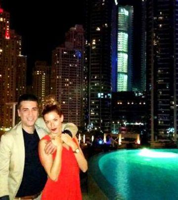 Ekskluzivni foto iz Dubaija: Željko i Jovana Joksimović uživaju u gradu luksuza