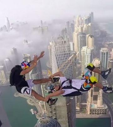 Skok sa 99. sprata: Da li ste zavisni od adrenalina?
