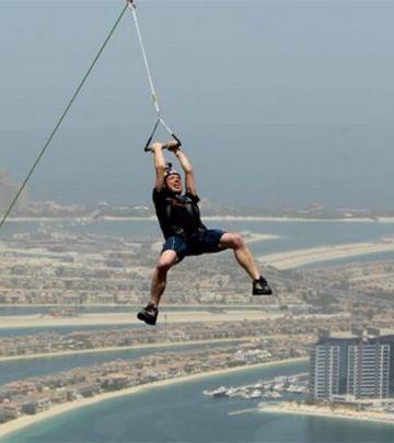 Ziplajn u Dubaiju: Snimak koji će vam ubrzati krvotok!