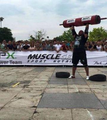 Bosanski strongman u akciji (VIDEO)