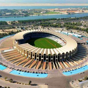 Zayed Sports City iz ptičje perspektive