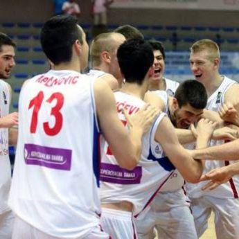 Mladi košarkaši Srbije na krovu Evrope!