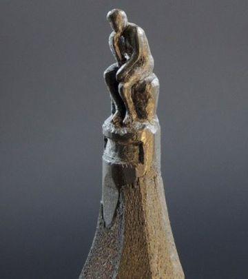 FOTO PRIČA: Bosanac pravi skulpture na grafitnim olovkama