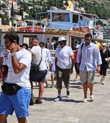 Katarski šeik na odmoru u Dubrovniku (FOTO)