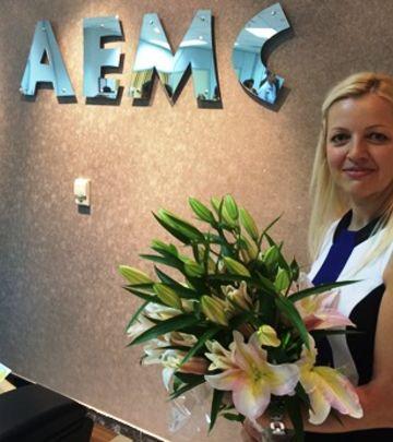 Osmesi, cveće i čestitke: Svečano otvaranje AEMC