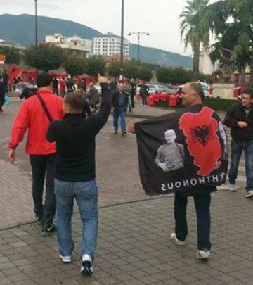Kad Kosovari krenu na tekmu u Elbasan (VIDEO)
