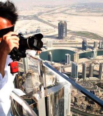 Pogled sa vrha: Džeki Čen oduševljen Burdž Kalifom