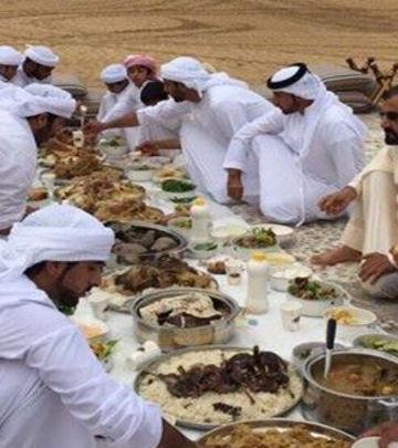 FOTO DANA: Šeikov porodični ručak