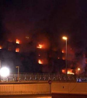 Požar u Dubaiju, gori Al Shamsi zgrada! (FOTO)
