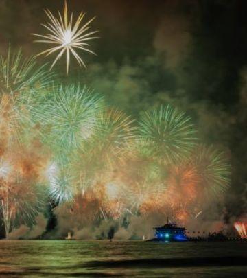 Spektakl u Emiratima: Proslava Nacionalnog dana (VIDEO)