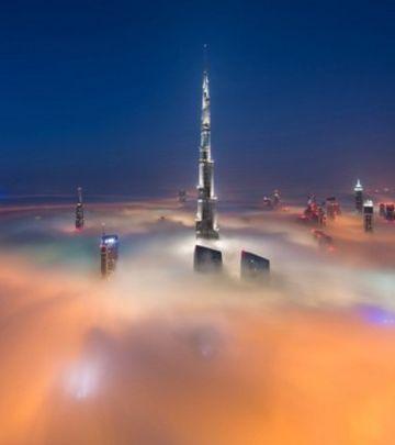 Tajmlaps snimak: Oblaci iznad Dubaija