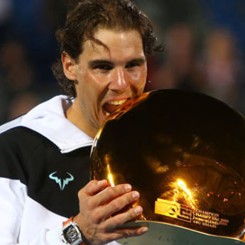 Nadal šampion Abu Dabija (VIDEO)