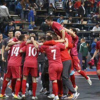 Futsaleri Srbije u polufinalu Evropskog prvenstva! (VIDEO)
