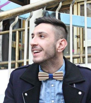 Modni hit: Srpski dizajner pravi leptir-mašne od drveta