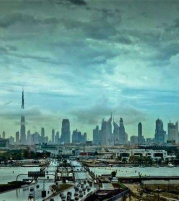 Poludelo vreme: Oluja, kiša i led u Dubaiju! (VIDEO)