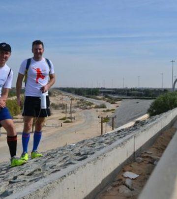 Podvig Nemanje i Darka: 160.000 koraka kroz pustinju! (FOTO)