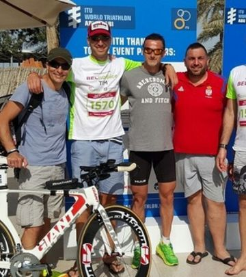 Sport u srcu: Triatlon u Abu Dabiju (FOTO + VIDEO)