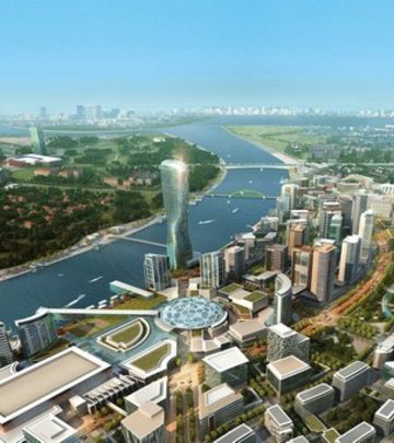 Beograd na vodi: Niče najviša zgrada na Balkanu (VIDEO)