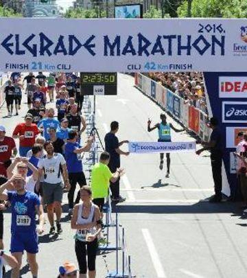 Atletičari iz Kenije pobednici 29. Beogradskog maratona
