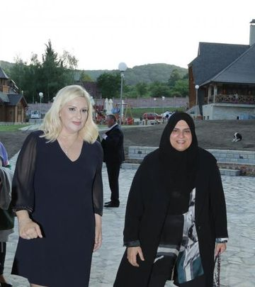 Poslovne žene iz Emirata - gošće Srbije