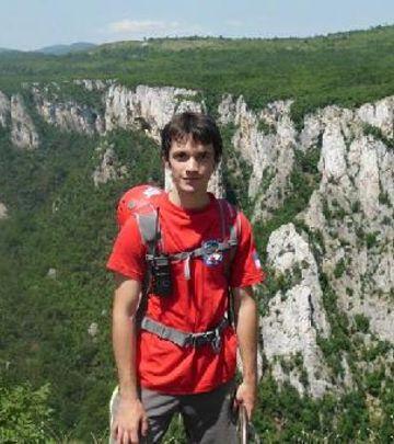 Važan je san: Stefan preko osam država ide do vrha Evrope!