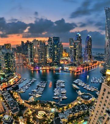 VIDEO DANA: Neverovatni snimci Dubaija iz vazduha