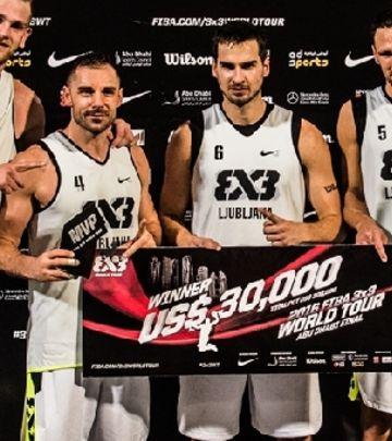Basketaši Ljubljane slave pobedu u Abu Dabiju