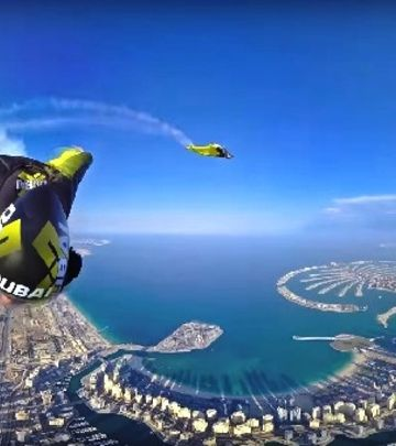 VIDEO DANA: Fascinantan let iznad obale Dubaija