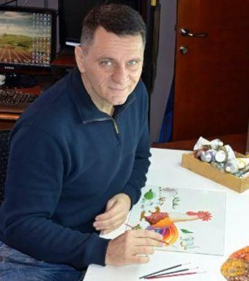 Mile Davidović: Srbija i slikarstvo u srcu (FOTO+VIDEO)