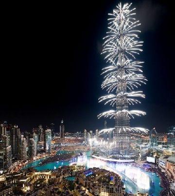 Spektakl u najavi: Novogodišnji vatromet kod Burdž Kalife