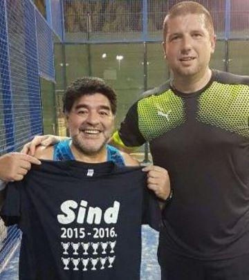 Šapčanin u Dubaiju – lični trener Dijega Maradone (FOTO)