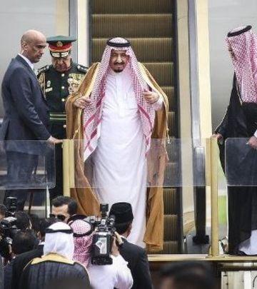 Ovo se ne viđa svakog dana: Kad kralj Salman putuje...