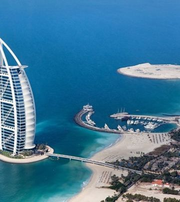 Burdž al Arab - od vizije do simbola Dubaija (FOTO+VIDEO)