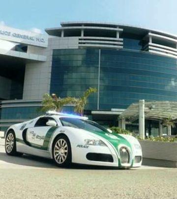 Samo u Dubaiju: Najbrža policijska vozila na svetu! (VIDEO)