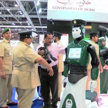 Policija Dubaija dobila neobično pojačanje (VIDEO)