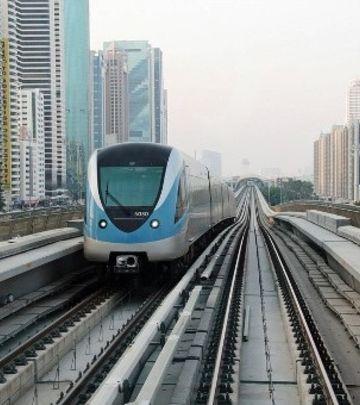 Promene u korišćenju metroa u Dubaiju