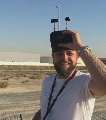 Na kafi sa Vladom Đapićem: Snimanje dronom–posao budućnosti