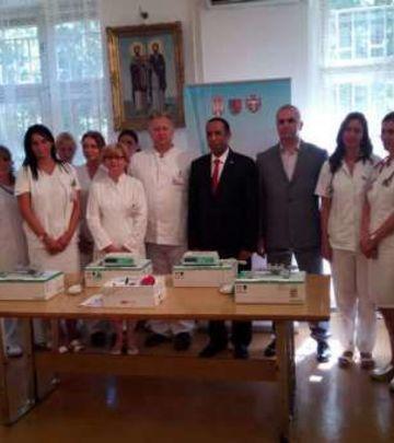 FOTO-PRIČA: Donacija Ambasade Emirata pančevačkoj bolnici
