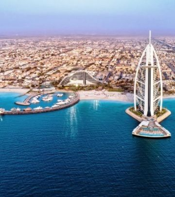 Dubai iz vazduha - fotografije o kojima priča ceo svet