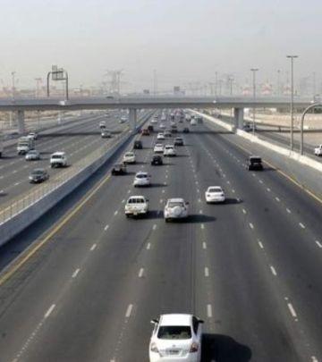 Smanjenje brzine na dva glavna puta u Dubaiju