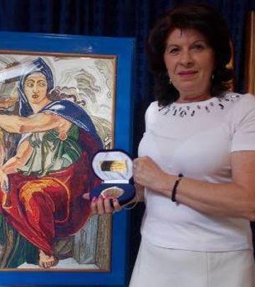 Zlatni prsti srpske učiteljice: Remek-dela od salveta (FOTO)