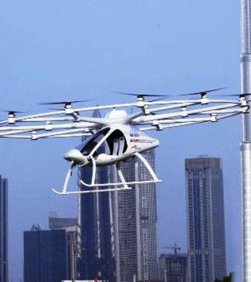 Prvi na svetu: Uspešan test letećeg taksija (FOTO + VIDEO)