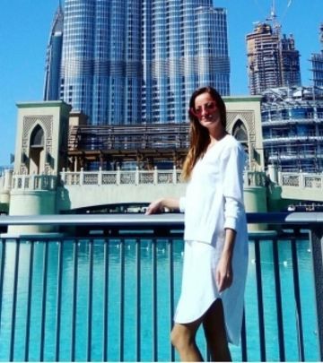 PRIČA NEDELJE: Promocija modela srpske dizajnerke u Dubaiju