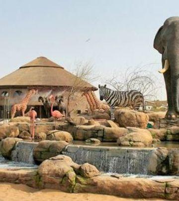 Zatvara se Zoološki vrt, dobrodošli u Dubai Safari